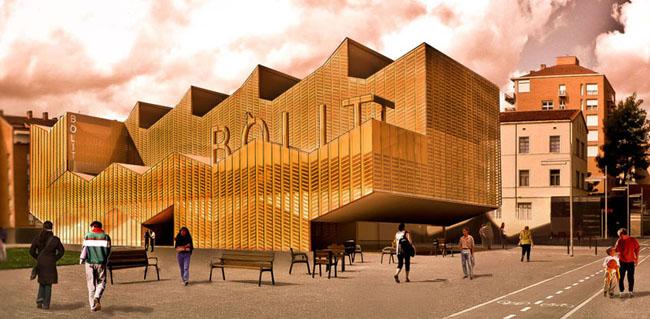 El Bòlit de Girona presenta la imatge de la futura seu