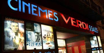 Els Cinemes Verdi incorporen una sessió diària a les 14 h