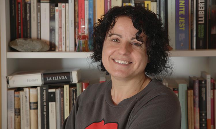 """Núria Busquet: """"La traducció és molt més racional i l'escriptura és molt més personal"""""""