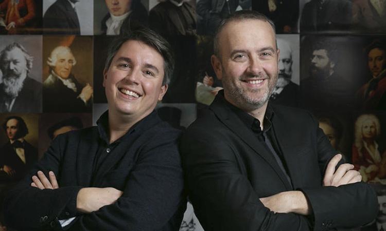 """'Els homes clàssics': """"Expliquem la música clàssica d'una manera més actual, propera i fresca"""""""
