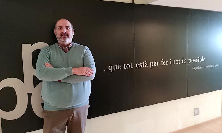 """Germà Capdevila: """"El periodisme associatiu té un valor afegit: el compromís dels editors amb una idea o una comunitat"""""""