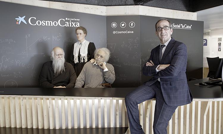 """Valentí Farràs: """"El CosmoCaixa és un museu on s'aprèn molt divertint-se, és el contrari d'avorrir-se"""""""