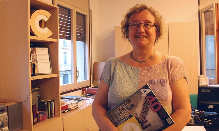 """Mercè Cano: """"Els catalans estem molt acostumats a associar-nos per fer activitats culturals"""""""